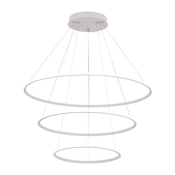 LED Pendelleuchte ORION WHITE EXTERNO Weiß 99W 6930lm