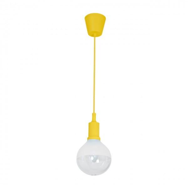 LED Pendelleuchte BUBBLE YELLOW Gelb 5W 350lm