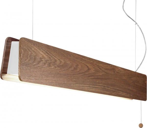 LED Pendelleuchte Holz 16W 3000K 1500lm Oslo
