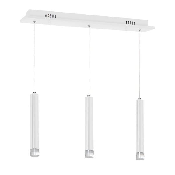 LED Pendelleuchte ALBA Weiß 15W 1050lm