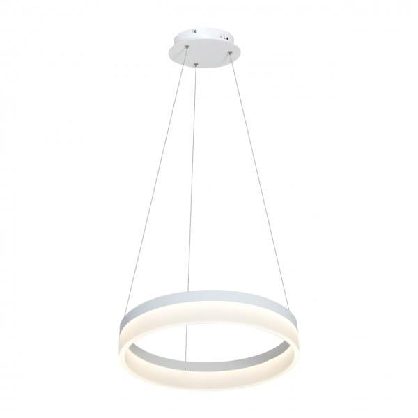 RING LED Pendelleuchte 24W Weiß