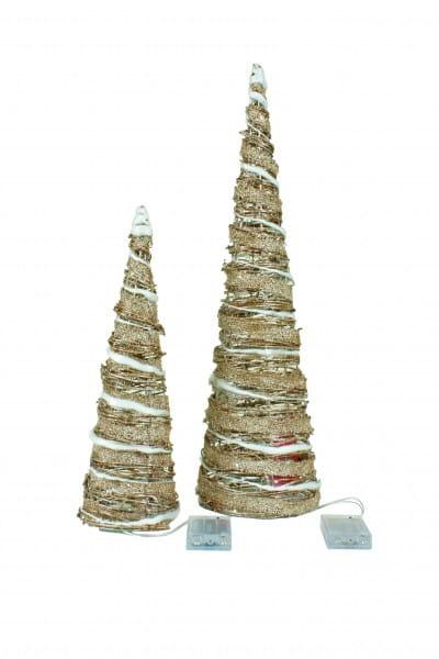 LED Weihnachtsbaum 2er Set