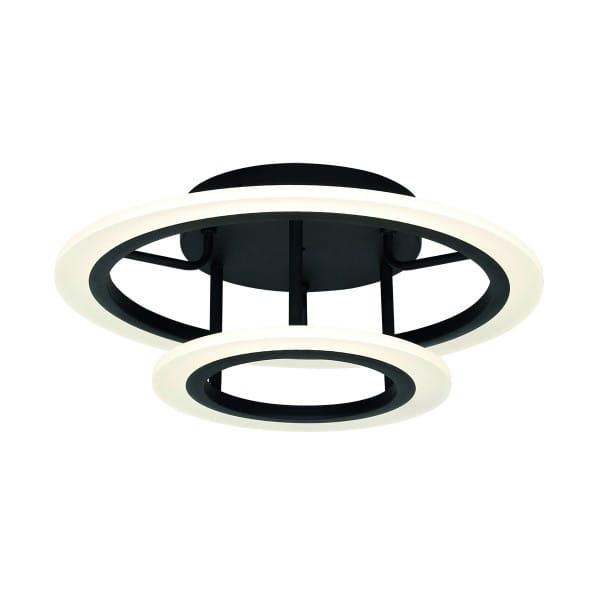 LED Deckenleuchte COSMO Schwarz 36W 2520lm