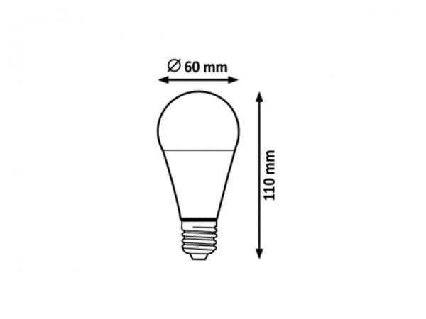 LED Leuchtmittel E27 12W 4000K neutralweiß