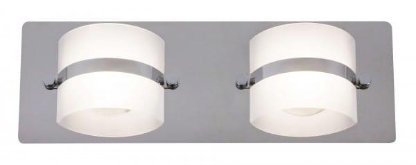 LED Wandleuchte chrom 10W 4000K 730lm