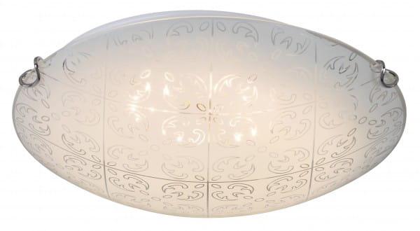 Deckenleuchte weiß LED 12W Haley Metall/Glas 3000K warmweiß 960lm