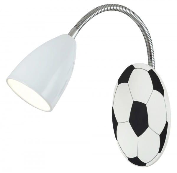 Wandleuchte 1-flammig mit Fussball-Design Frankie