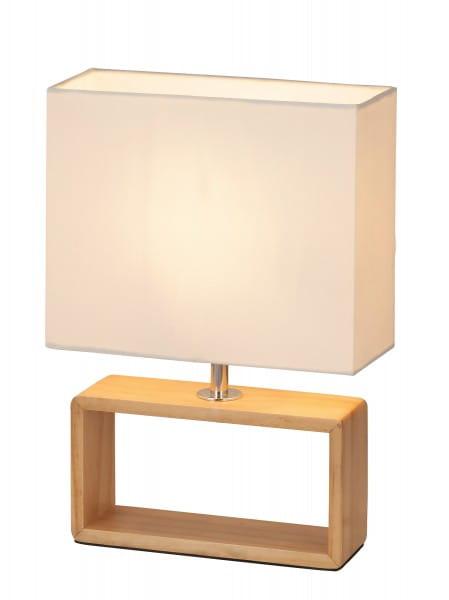 Tischlampe Holz buche Freya S E14