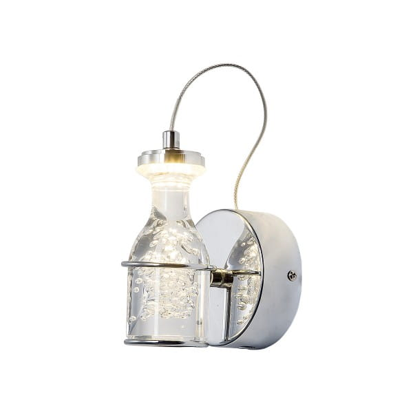 LED Wandleuchte BOTTLE Chrom 5W 350lm