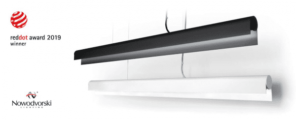 Q LED Pendelleuchte Weiß 36W 3000K 2700lm