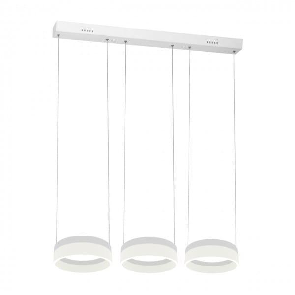 RING LED Pendelleuchte Weiß 36W