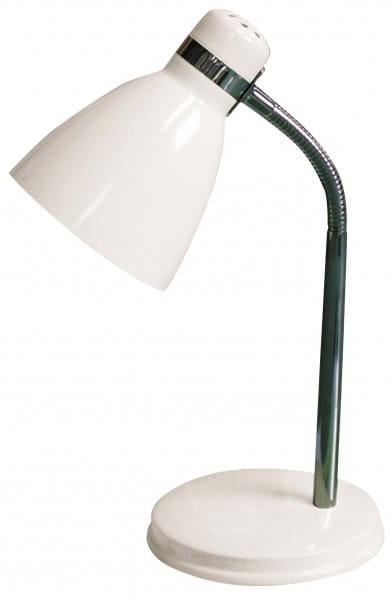 Schreibtischlampe weiß Metall Patric