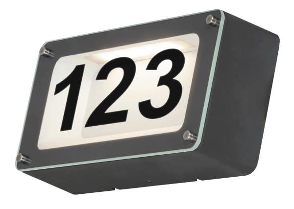 Außenwandleuchte anthrazit grau LED IP54 Hannovere