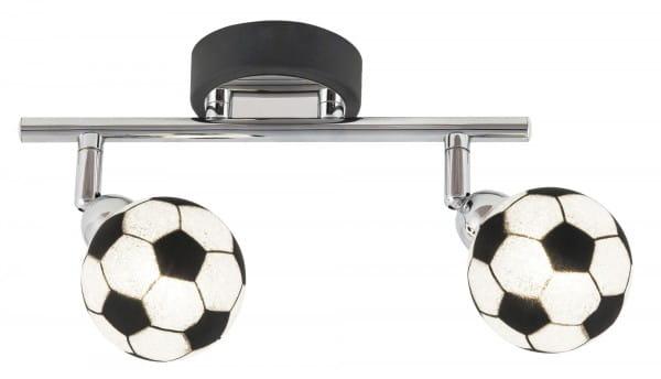 Deckenspot 2-flammig im Fussball-Design Frankie