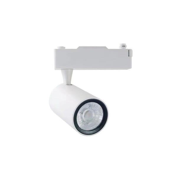 LED Deckenleuchte TRACK LIGHT weiß aus Stahl 8cm