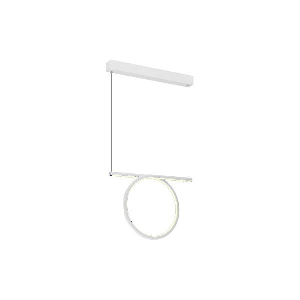 LED Pendelleuchte LOOP WHITE Weiß 20W 1400lm