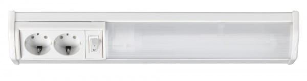 Unterbauleuchte Küche warmweiß mit Steckdose Bath 11W
