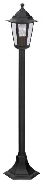 Wegeleuchte schwarz E27 60 Watt IP43 Velence
