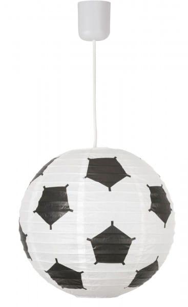 Leuchtenschirm aus Papier im Fussball-Design 30 cm Frankie