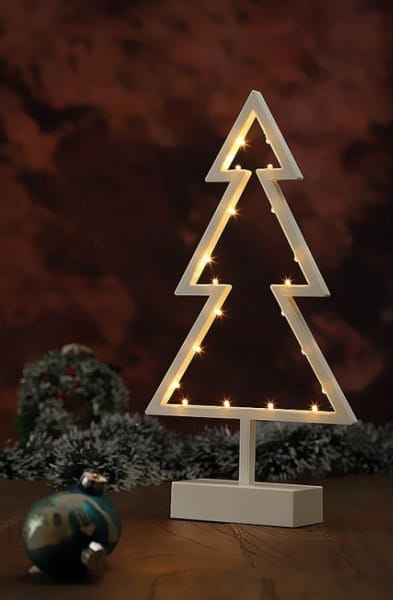 LED Dekoleuchte Tannenbaum Holy