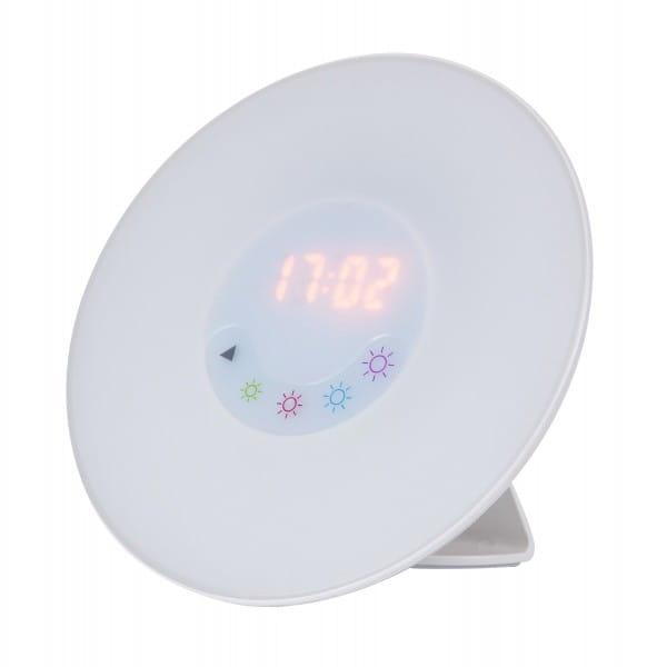 Lichtwecker LED mit FM-Radio Nachttischlampe