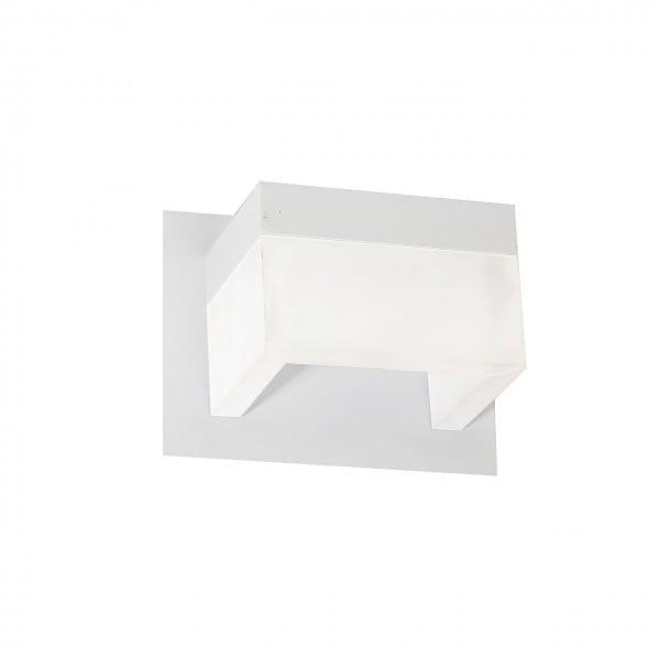 LED Wandleuchte CUBO Weiß 7W 490lm