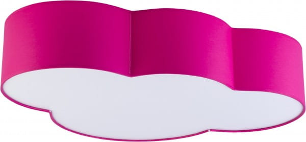 Kinderzimmerlampe Wolke Pink 62 x 45 cm E27 Cloud