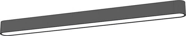 LED Deckenleuchte 16W 1500lm grau warmweiß 3000K