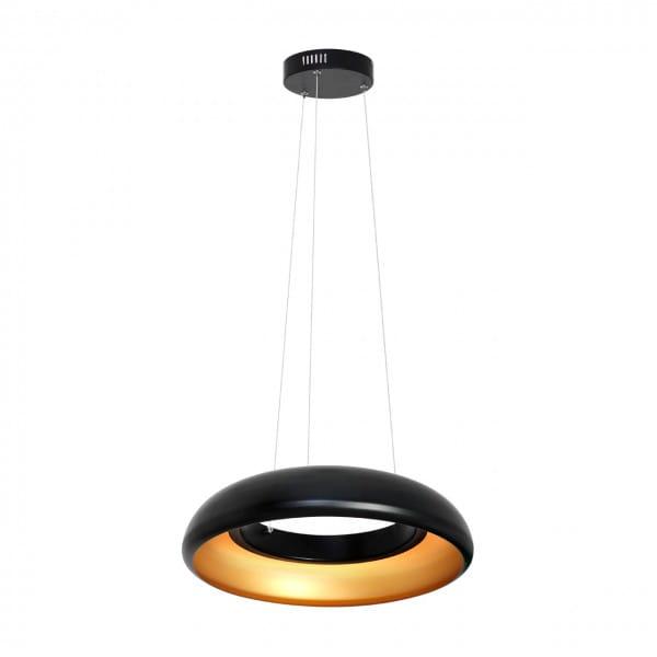 LED Pendelleuchte Schwarz Ring 36W