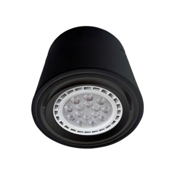 LED Einbauleuchte TUBO MAXI Schwarz 12W 960lm