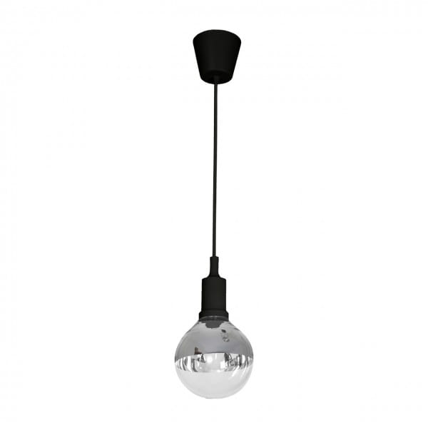 LED Pendelleuchte BUBBLE BLACK Schwarz 5W 350lm