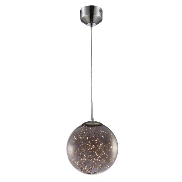 LED Pendelleuchte Kugel Glas 16W