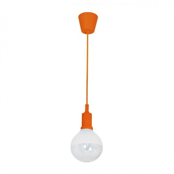LED Pendelleuchte BUBBLE orange orange 5W 350lm