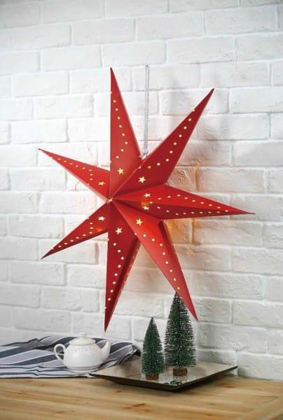 LED Dekoleuchte Weihnachten Redstar
