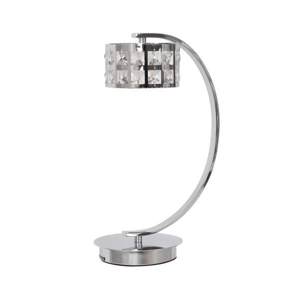 LED Tischleuchte ALEX Chrom 5W 350lm