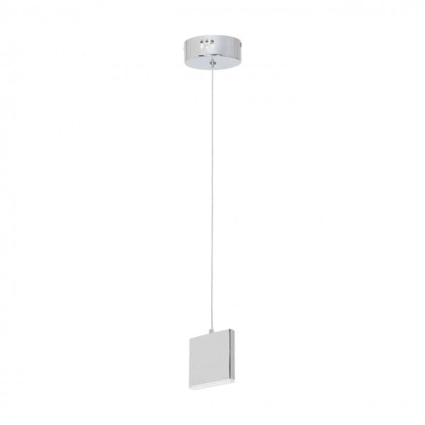 LED Pendelleuchte CUADRA Chrom 5W 350lm
