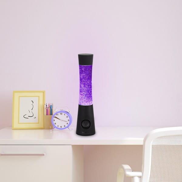 LED Glitterleuchte Lautsprecher Carnival