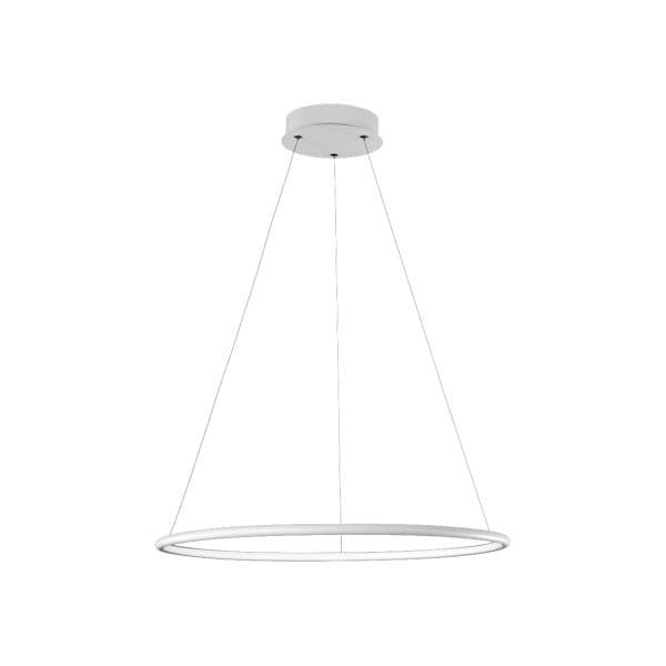 LED Pendelleuchte ORION WHITE Weiß 22W 1540lm