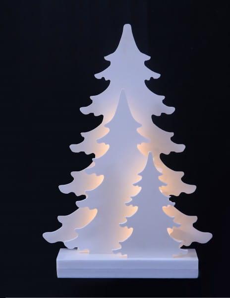 LED Weihnachtsdeko Winterwald