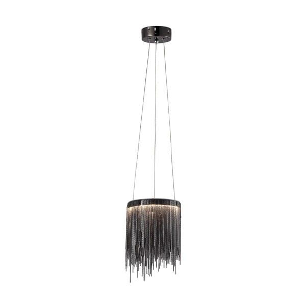 LED Pendelleuchte CASCATA BLACK Schwarz 18W 450lm