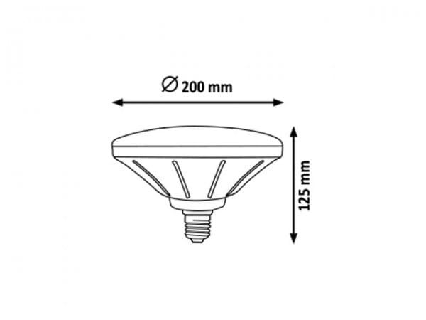 LED Leuchtmittel E27 22W 4000K neutralweiß
