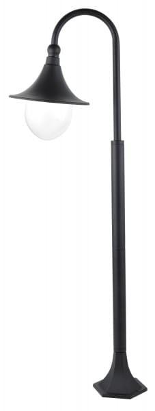 Wegeleuchte schwarz E27 100 Watt IP44 Konstanz