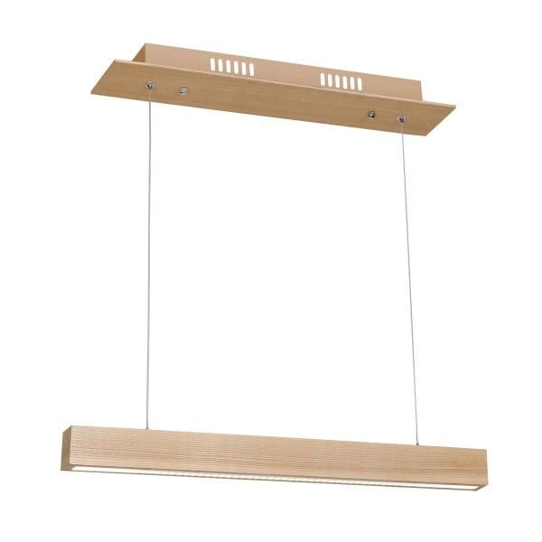 LED Pendelleuchte Holz 12W 840lm