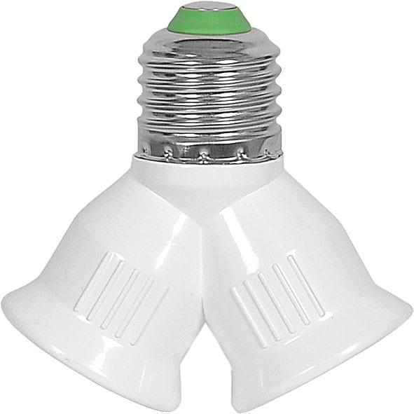 DUPLEX Ersatzteil modern Aluminium/Kunststoff weiß E27 60W
