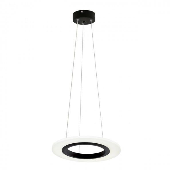 LED Pendelleuchte COSMO Schwarz 12W 840lm