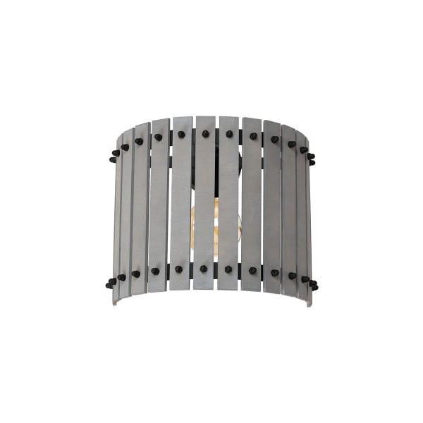 Wandleuchte Grau EGON GREY 60W E27 1-flammig