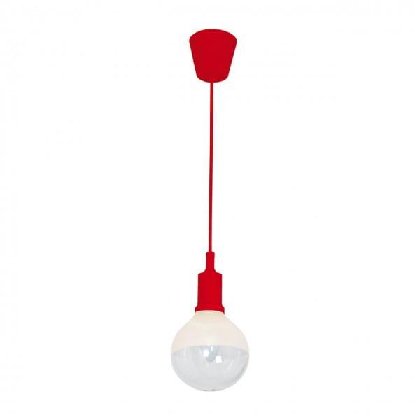 LED Pendelleuchte BUBBLE Rot Rot 5W 350lm